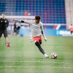 With NYRB II, Lewis will get regular starts in USL and opportunities to play alongside and against current and former MLS players