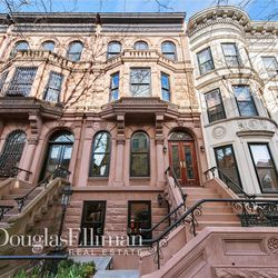 A Romanesque revival townhouse in Brooklyn.