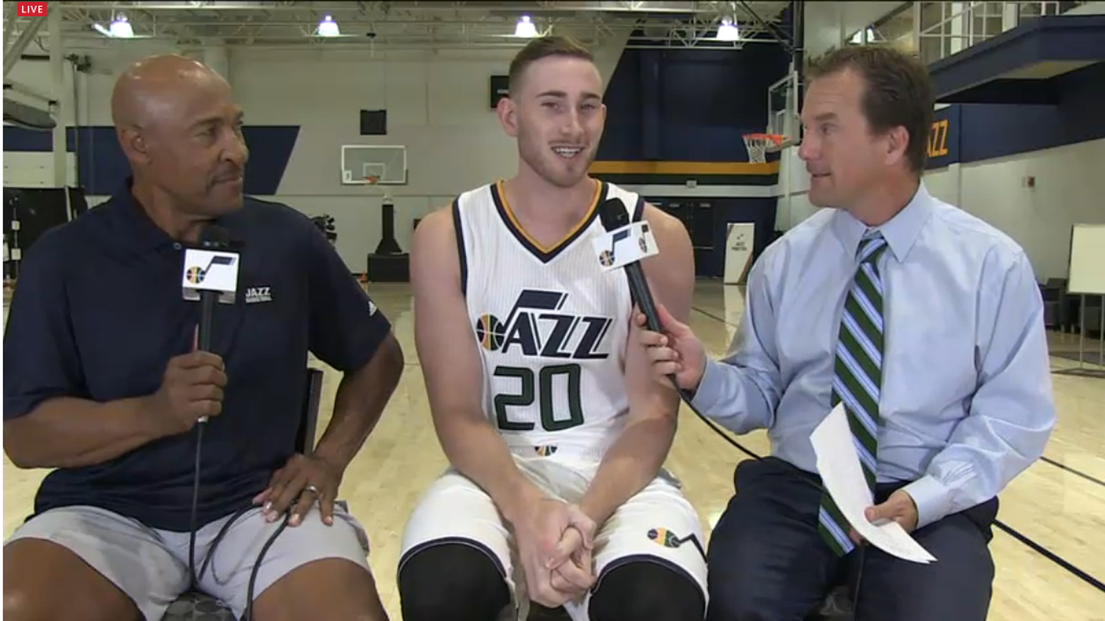 Gordon Hayward didn't take the summer off - SLC Dunk