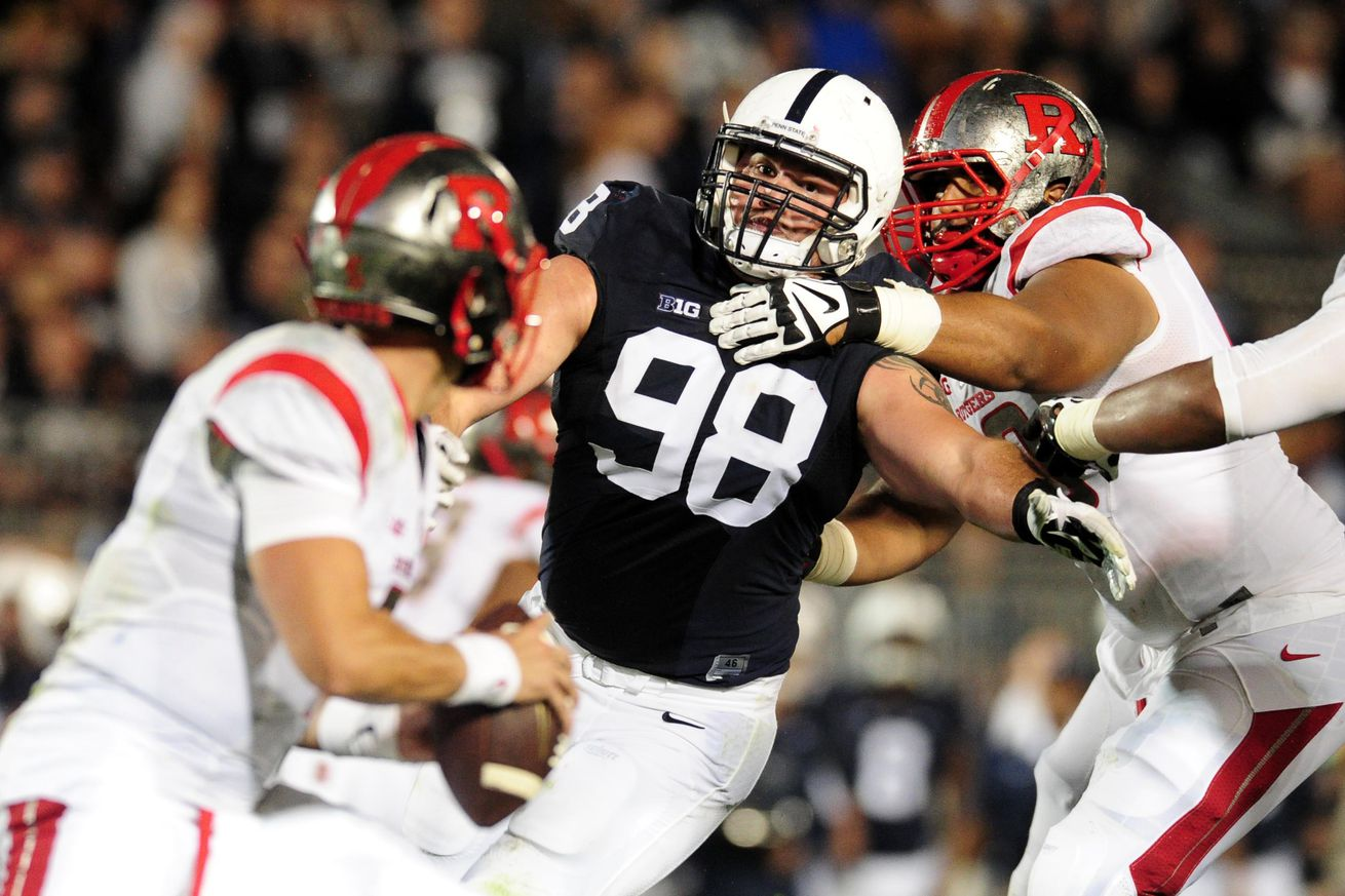 NFL Jerseys Outlet - Black Shoe Diaries: Anthony Zettel is 'crazy and scary in an ...