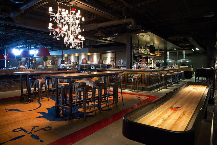 Look Inside The Painted Pin Now Open In Buckhead Eater