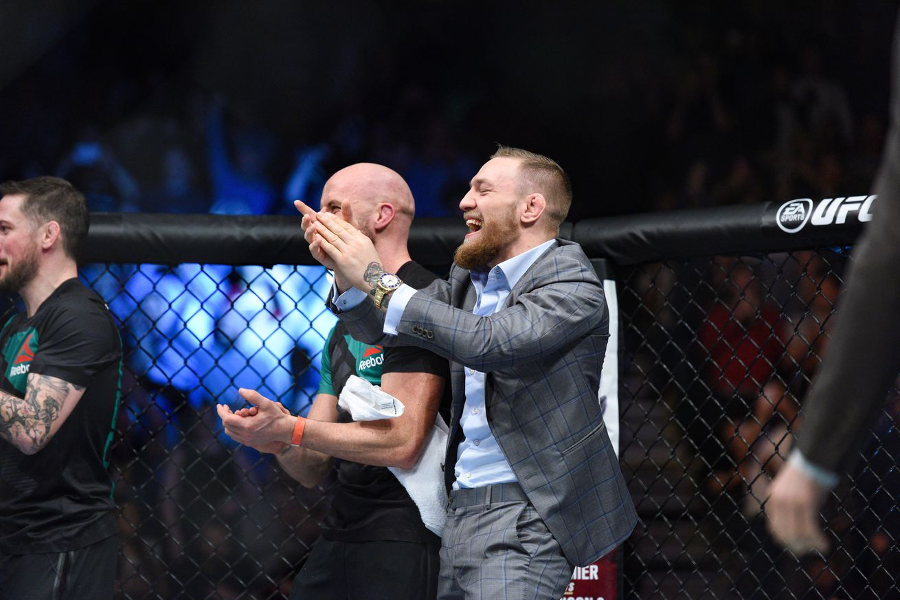 community news, Conor McGregor's coach uses potential Floyd Mayweather fight for April Fools joke