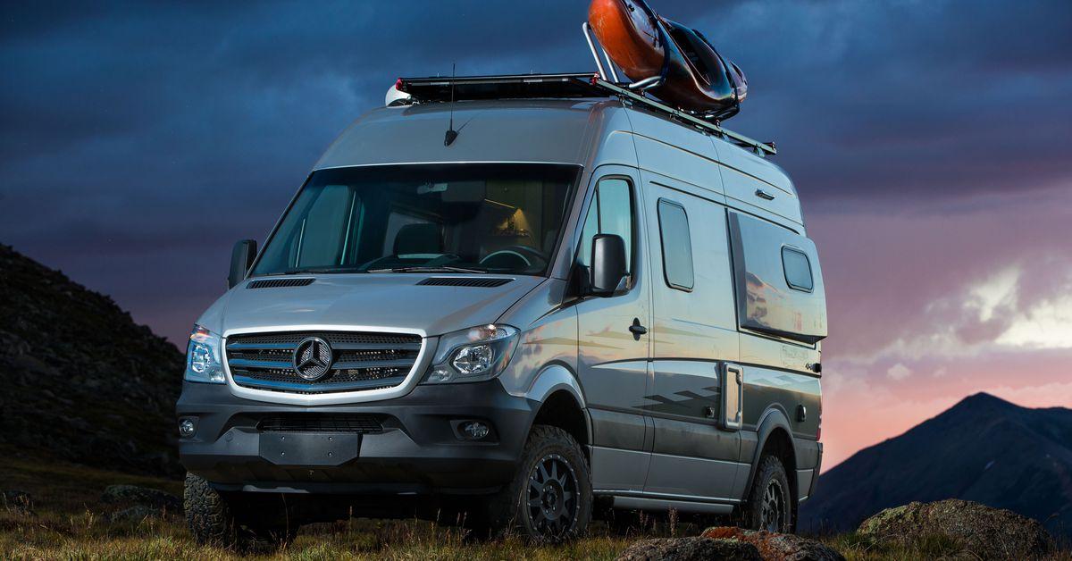 Mercedes Benz Rv >> Winnebago S New Revel Camper Van Is Not Your Grandfather S