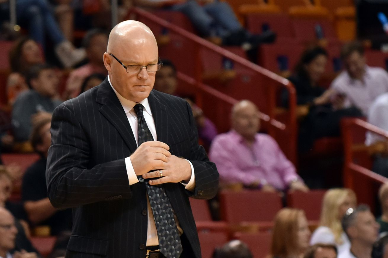 scott skiles resigns as magic head coach orlando pinstriped post