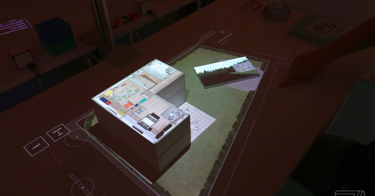 Sony S Touchscreen Projector Technology Feels Like The