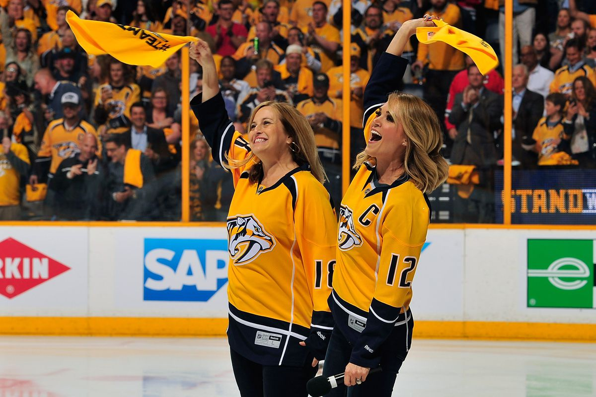The Nashville Predators keep upping the celebrity star ...
