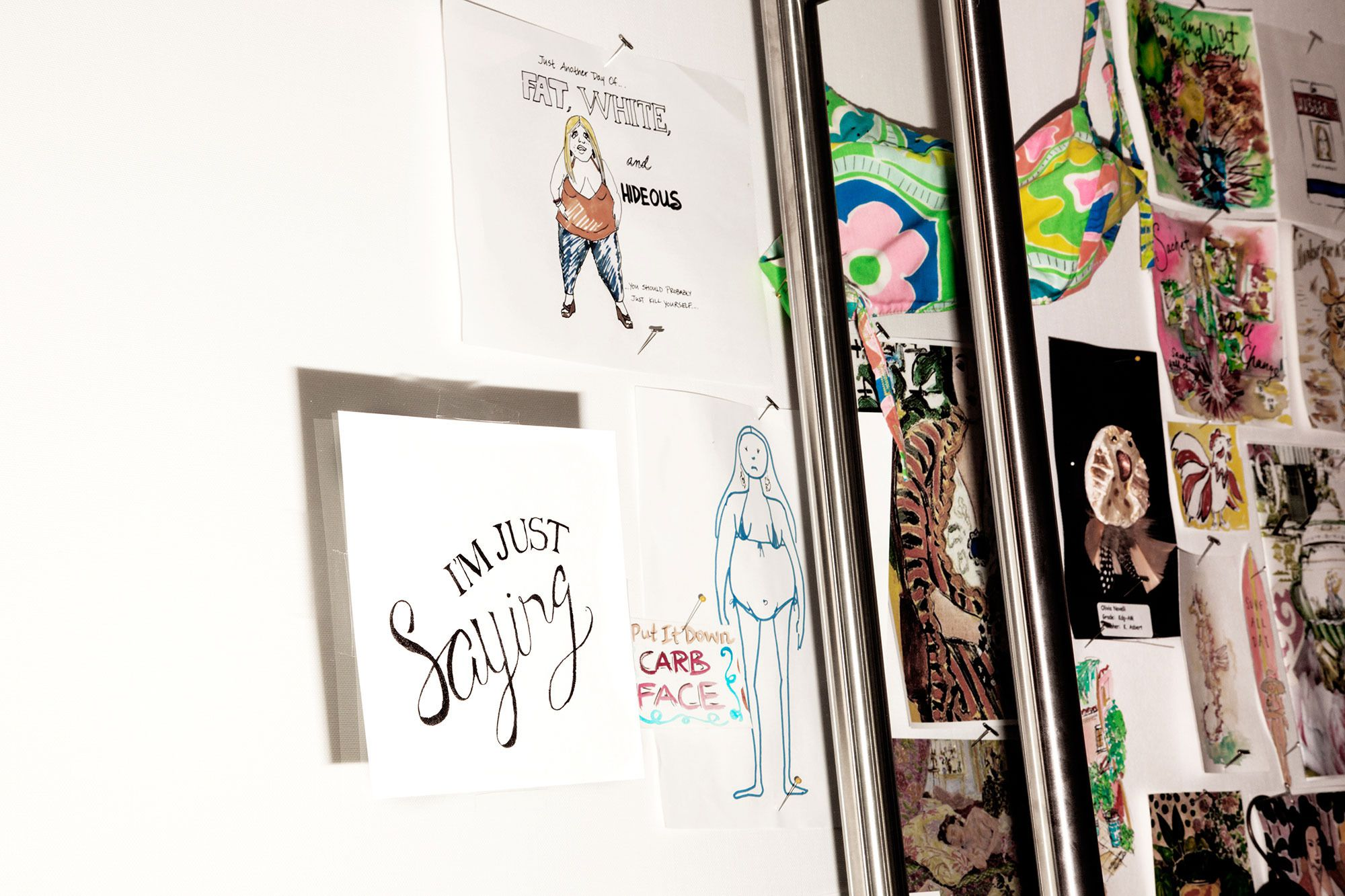 lilly pulitzer 39 s office decor includes fat shaming cartoons racked