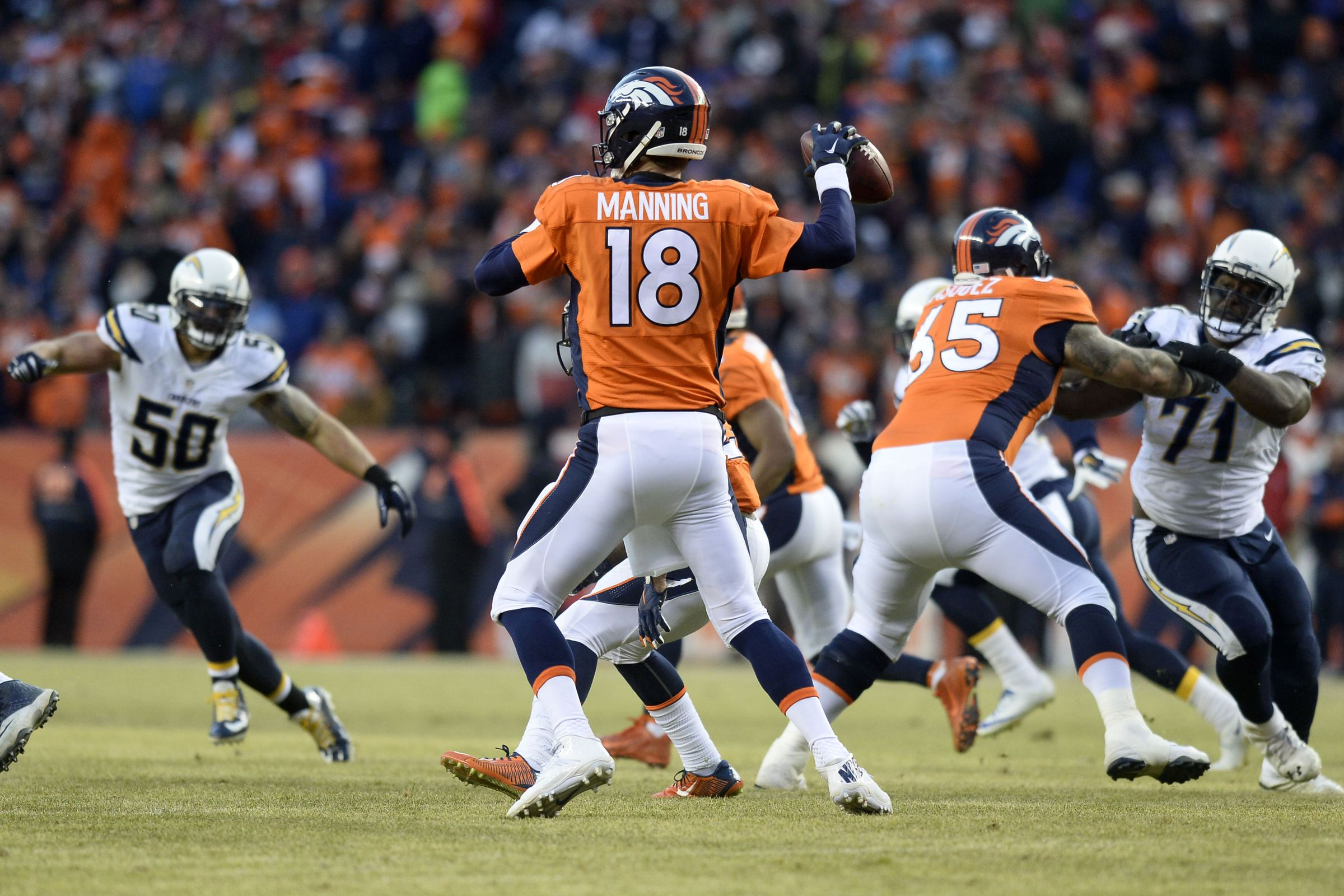 AFC playoff picture: Broncos earn home field throughout