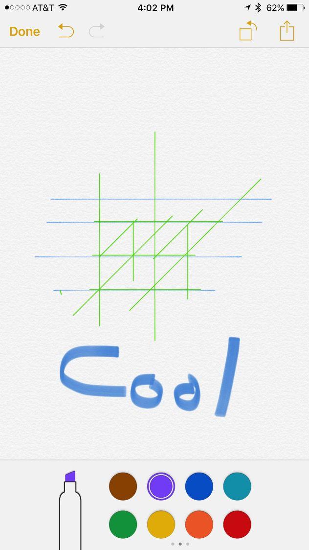 iOS 9 Notes App