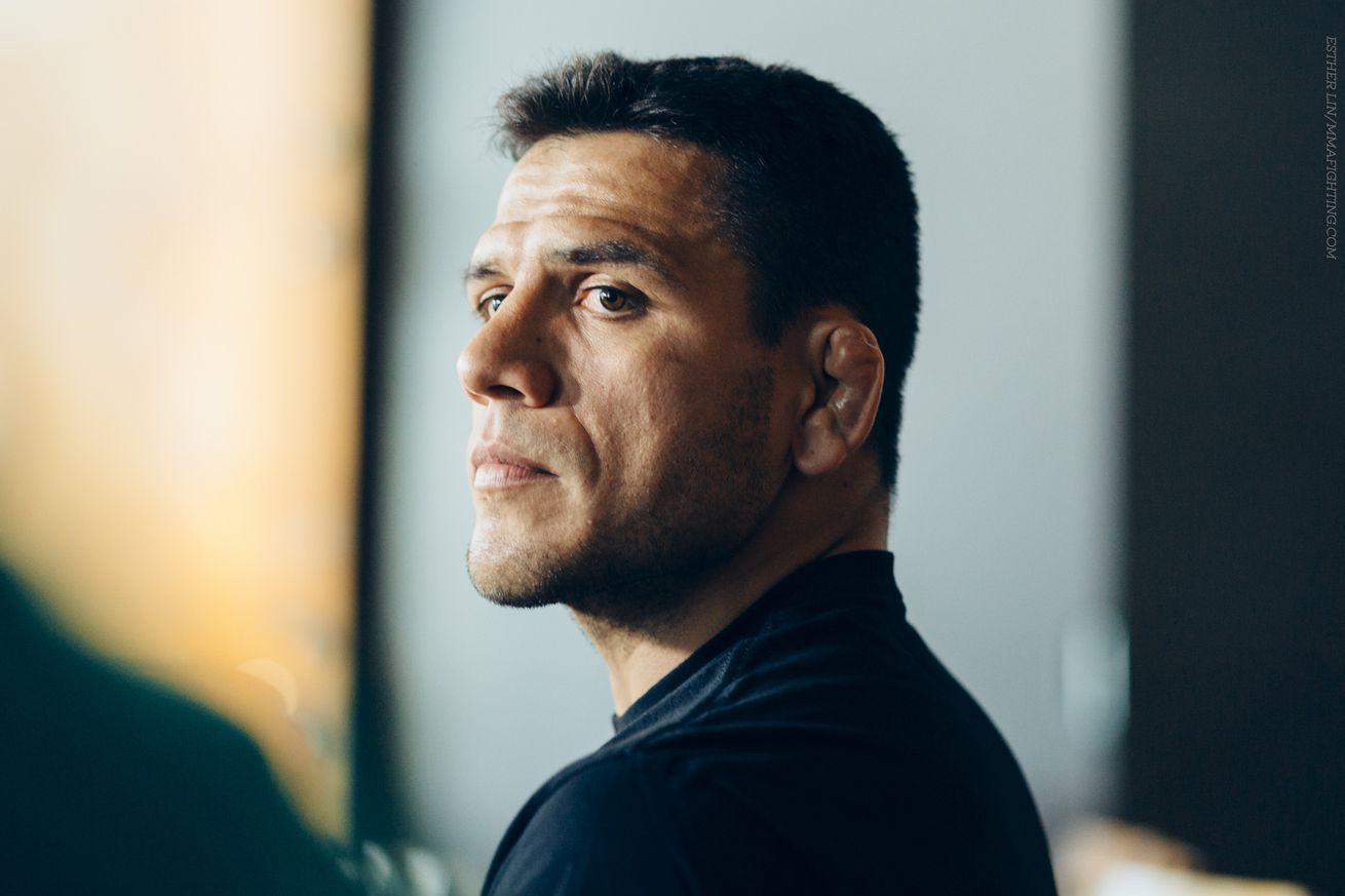 Rafael dos Anjos confirms he passed out prior to UFC fight with Eddie Alvarez