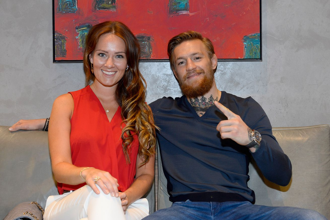 community news, UFC featherweight king Conor McGregor flies back to Ireland for girlfriends award acceptance