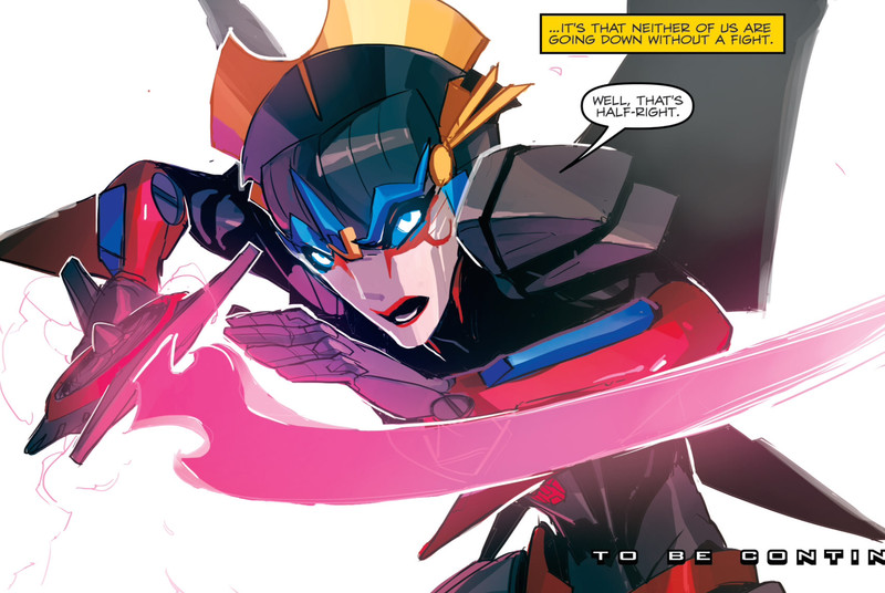 An all-female Transformers team will join Hasbro's comic series