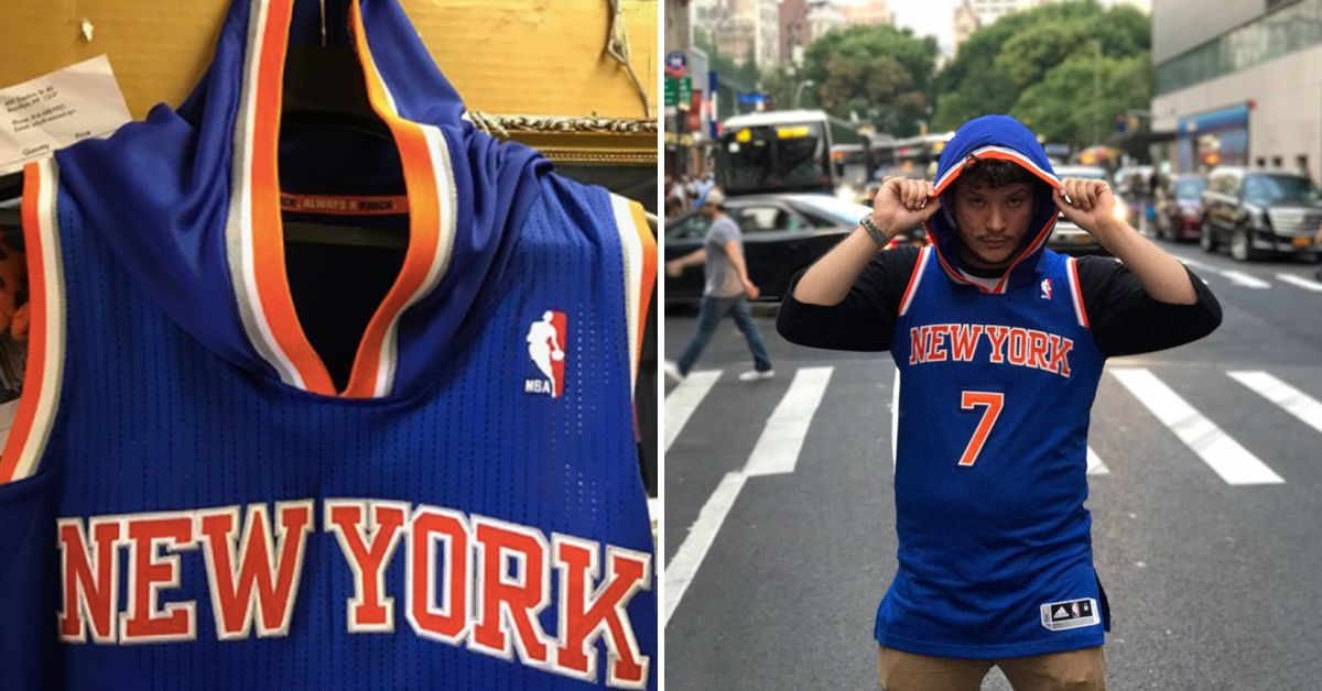 Hoodie Melo How A Lifelong Knicks Fan Made This Jersey