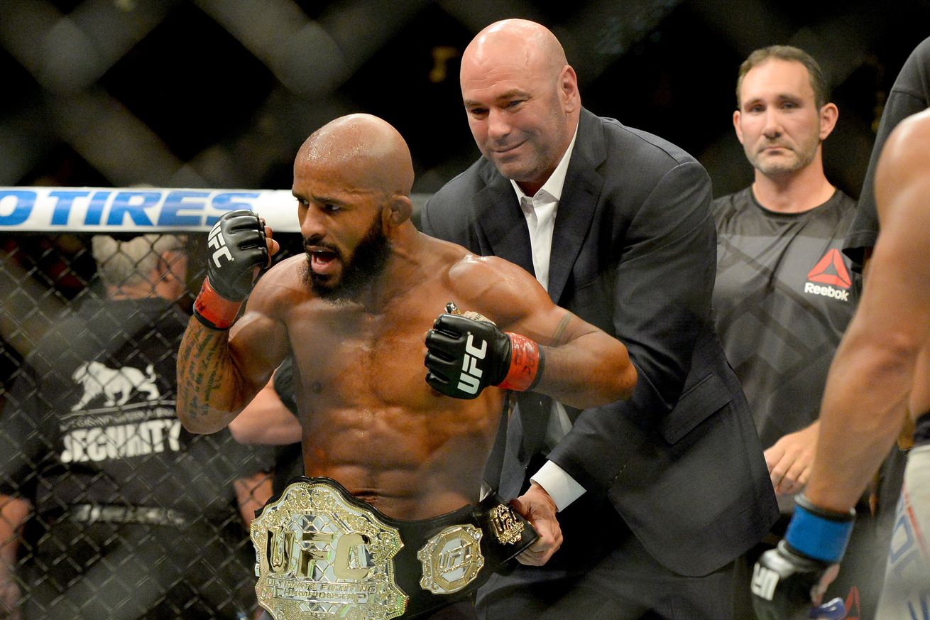 Demetrious Johnson hoping to tie Anderson Silva's title defense record on FOX this April