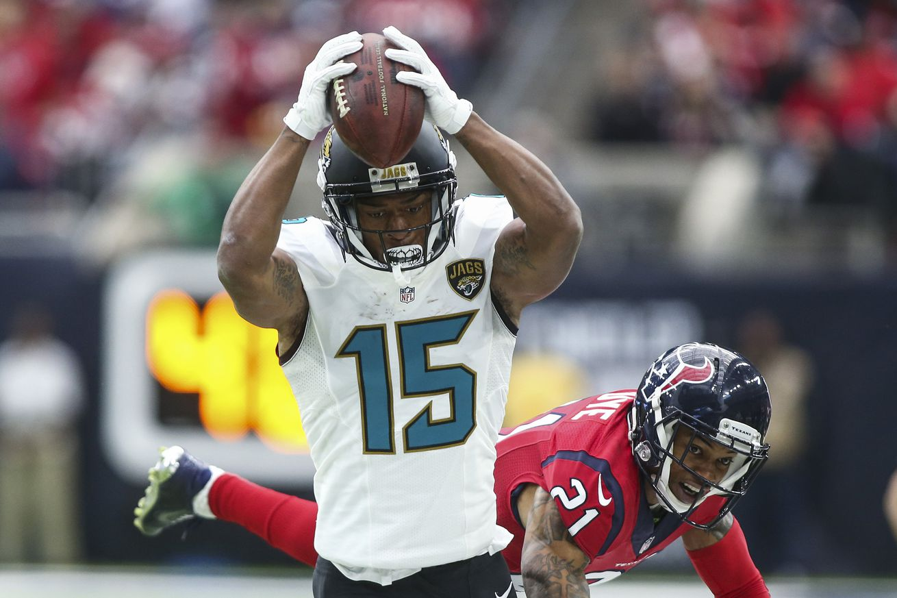 Jaguars WR Allen Robinson says he's 'earned' a contract extension, and he's right