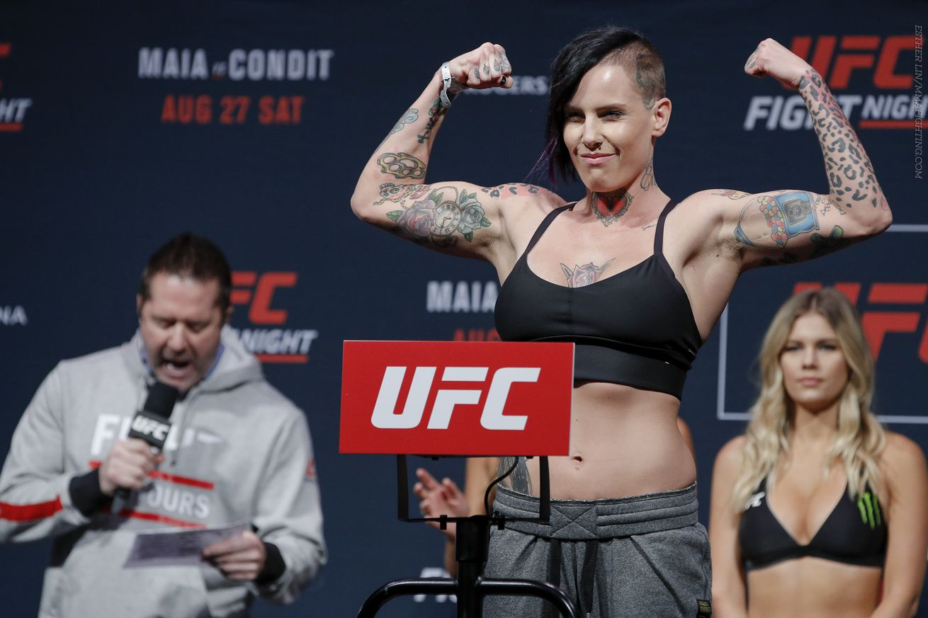 community news, Bec Rawlings explains why she missed weight at UFC Fight Night 104