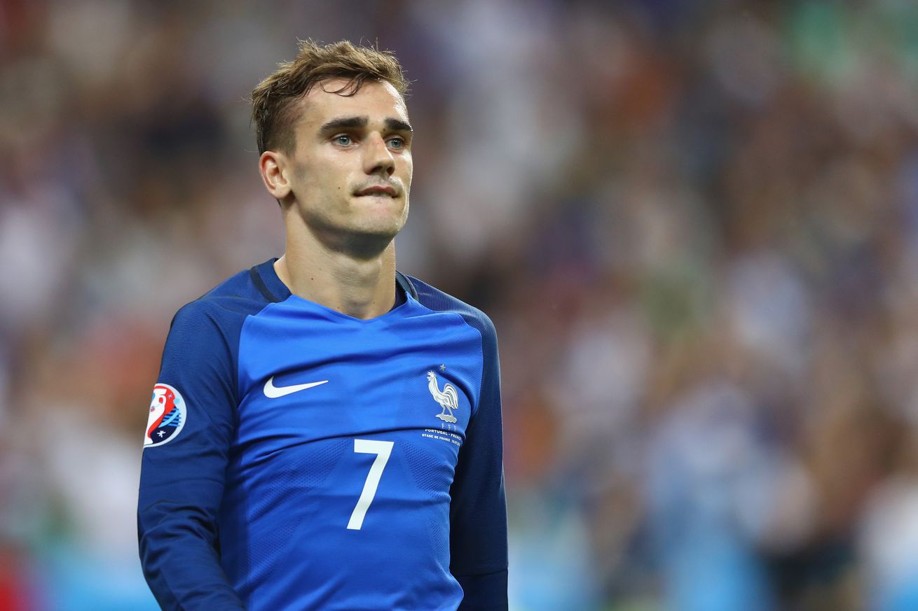 Antoine griezmann wins euro 2016 player of the tournament - Antoine griezmann ...