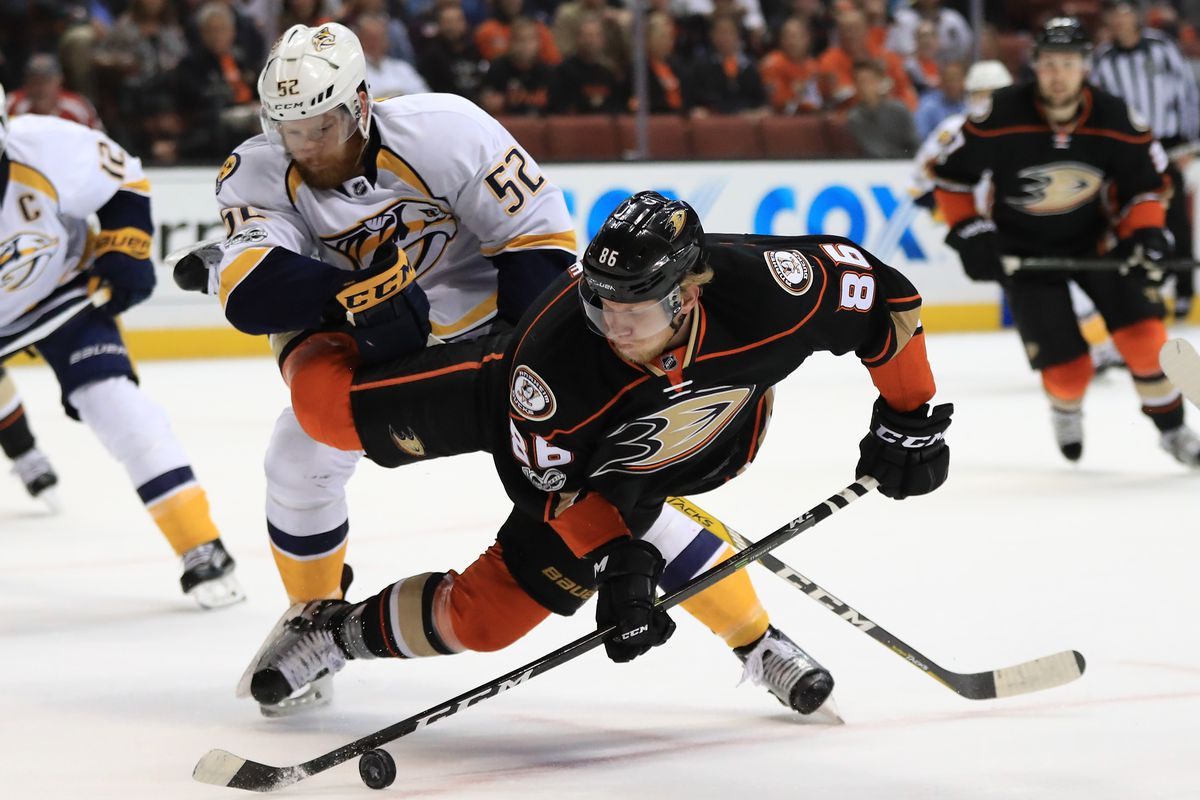 Monday's Stanley Cup Playoffs Betting Preview and Odds: Ducks at Predators