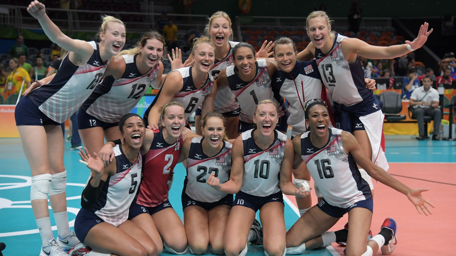 Olympic Volleyball Results 2016 United States Picks Up