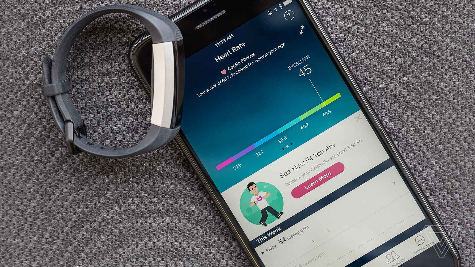 how to start a fitbit hr