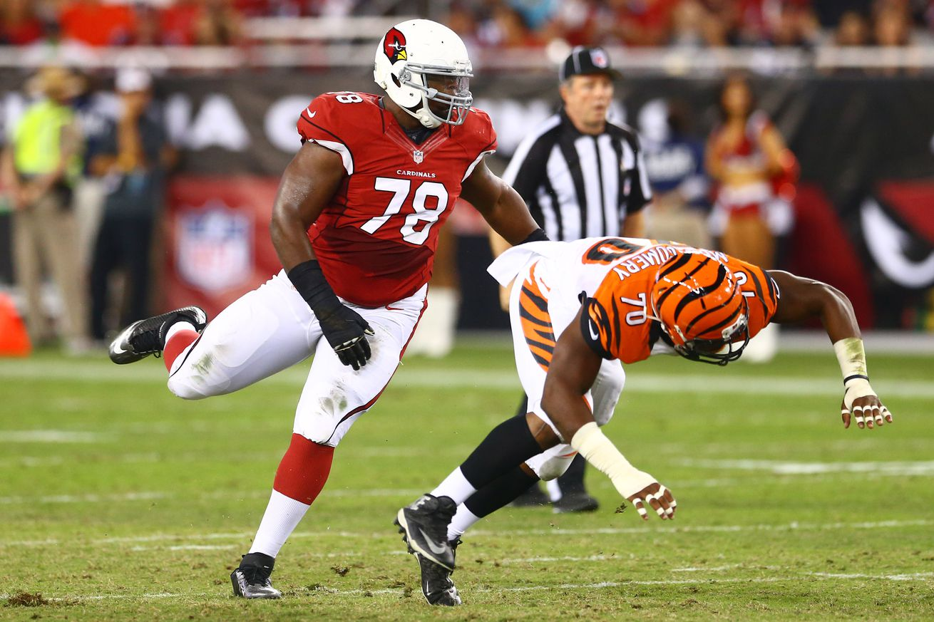 Cheap NFL Jerseys Outlet - Arizona Cardinals depth chart: Earl Watford to start at RT ...