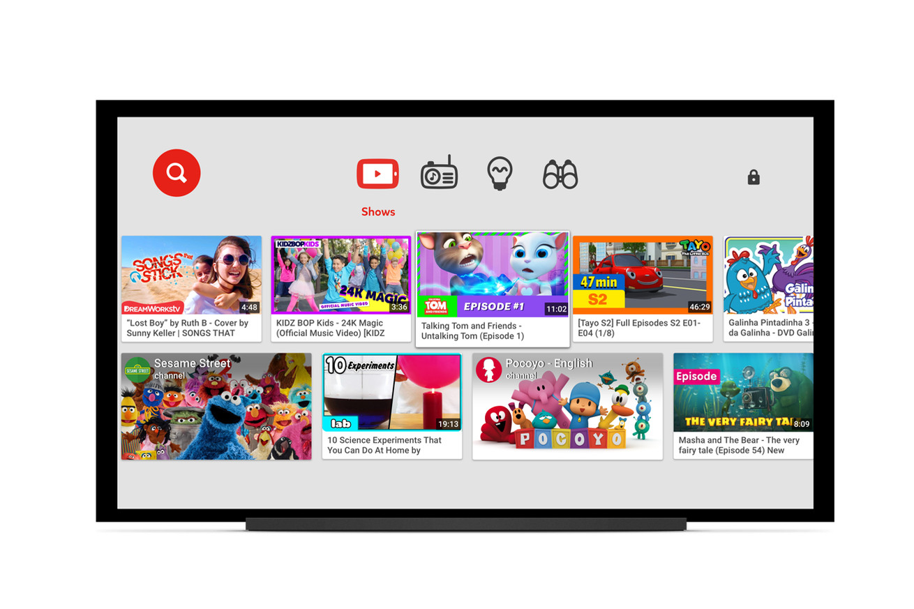 youtube s family friendly kids app is now available on smart tvs