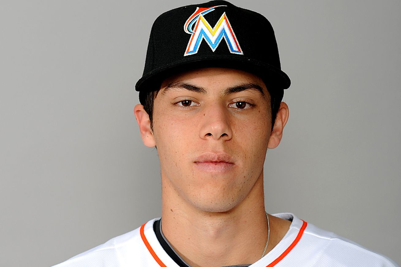 Miami Marlins prospect Christian Yelich is really young ... Christian Yelich