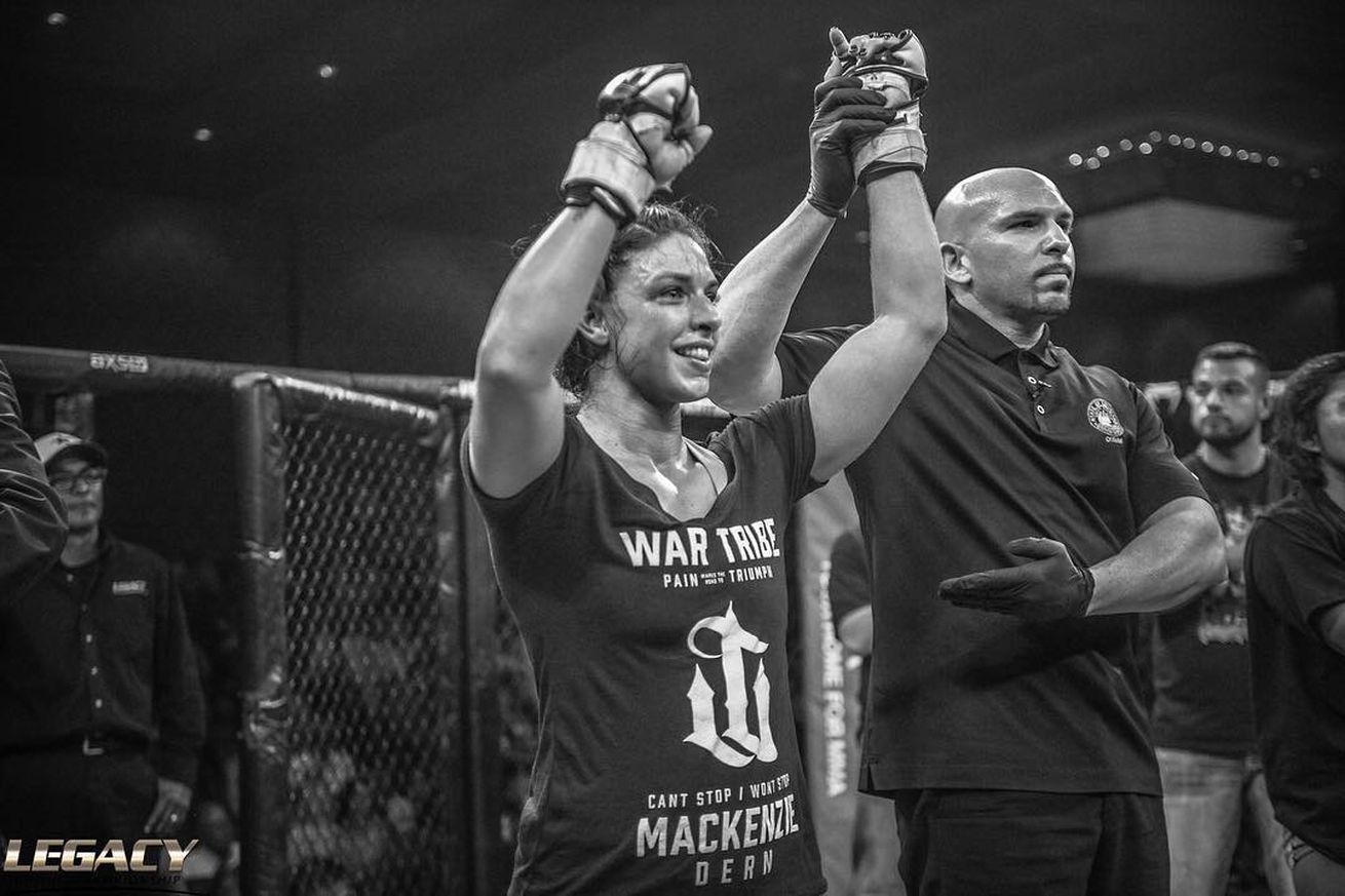 Mackenzie Dern's MMA goal: Fight for the UFC title by end of 2017