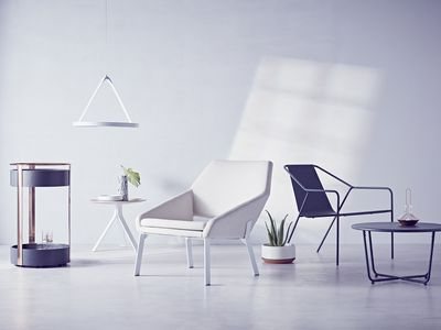 Dwell and Target?s line of affordable modern furniture is now available