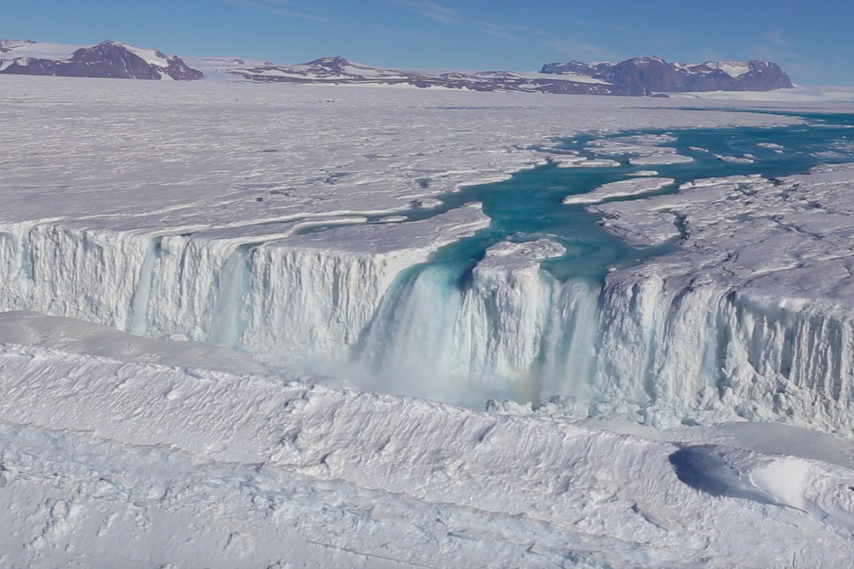 Antarctica's Seasonal Meltwater Networks More Extensive Than Previously Thought