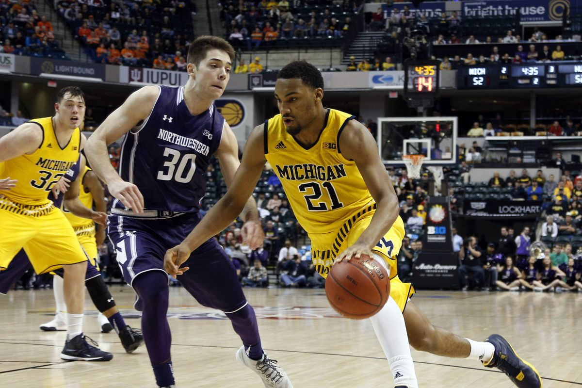 Michigan Beaten at the Buzzer by Northwestern