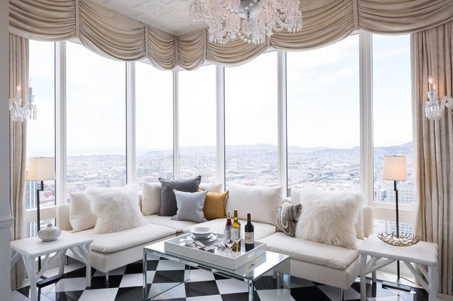 View from the $9.45 million Millennium Tower penthouse. Photo via Jacob Elliott
