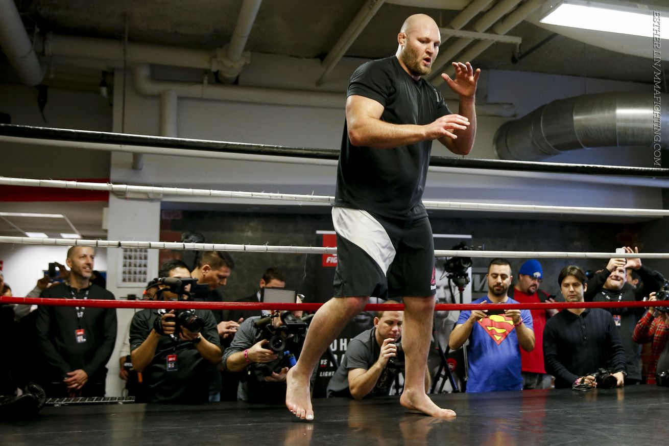 Ben Rothwell flagged by USADA for potential UFC anti doping policy violation
