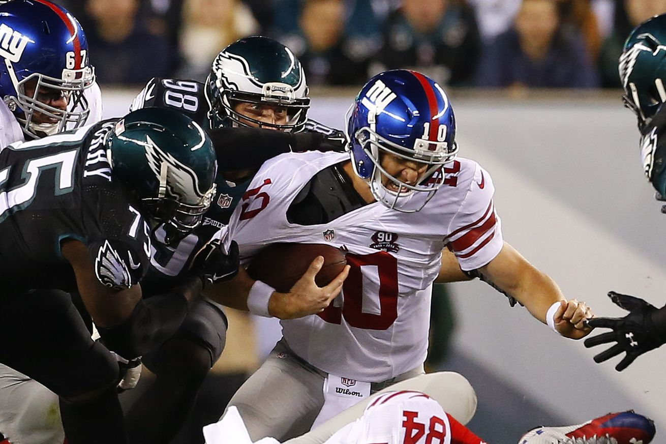 Eagles vs. Giants 2015: Game time, TV schedule, online ...