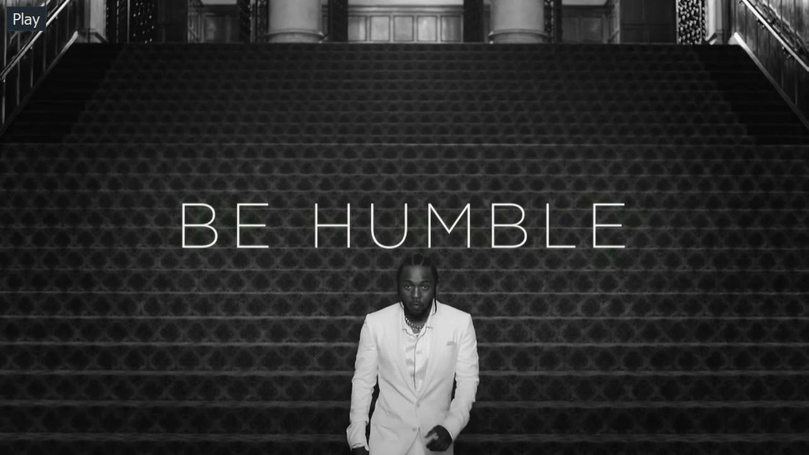 Kendrick Lamar S Humble Is The Perfect Theme Song For