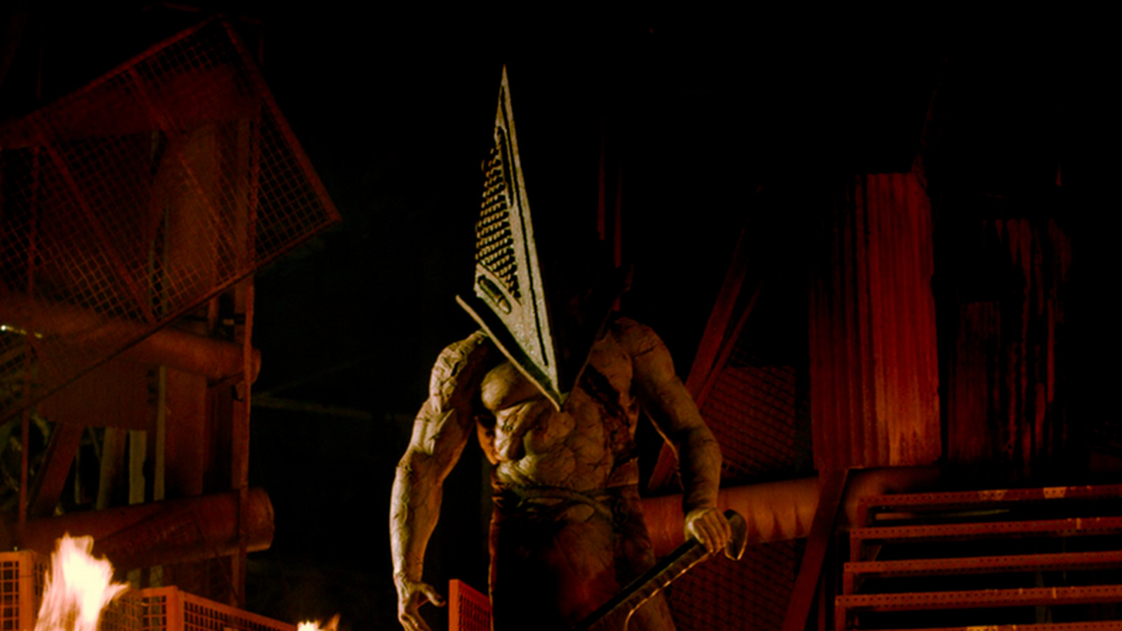 Wait, was Pyramid Head trying to help you in Silent Hill 2 ...