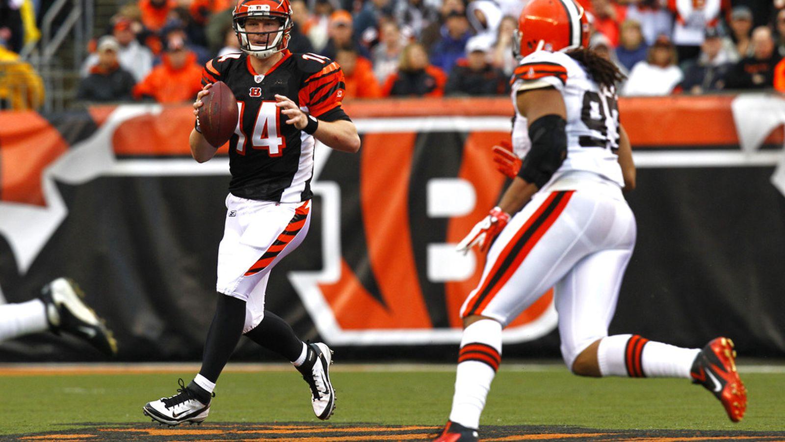 Browns Vs. Bengals: Andy Dalton Leads Cincinnati Comeback