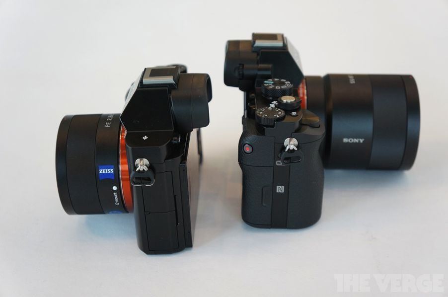 sony alpha 7 and alpha 7r hands on photos the verge. Black Bedroom Furniture Sets. Home Design Ideas