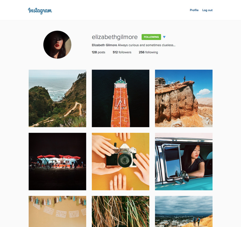 how to add photos on instagram website