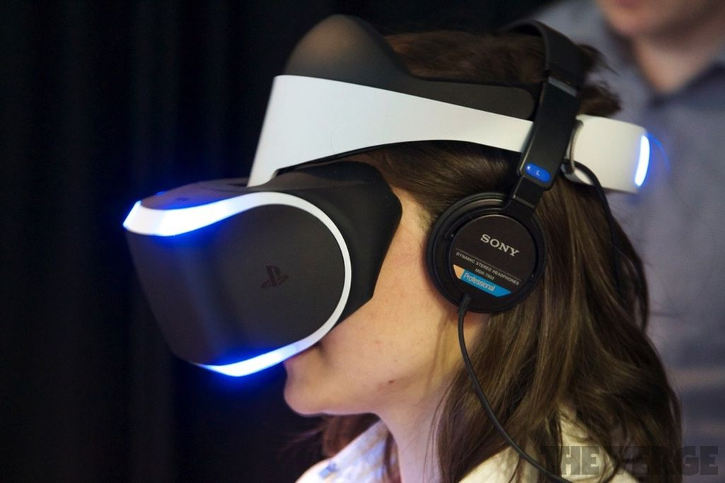 Strapped Into Sonys New Virtual Reality Headset, Project -2886
