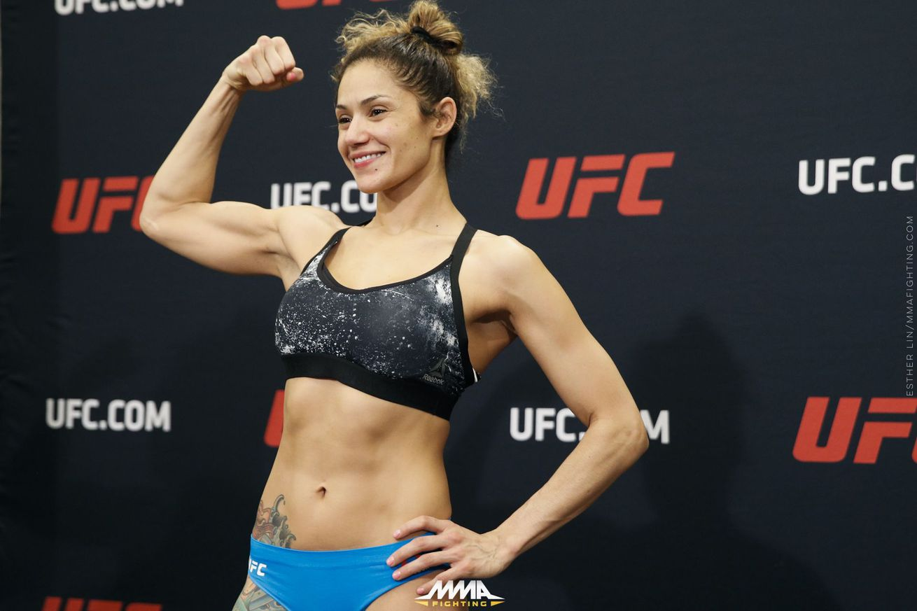 Pearl Gonzalez admits she lost focus at UFC 210 after NYSAC breast implant drama