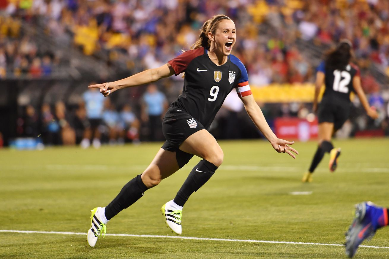 NINE FOR NO. 9 USWNT bids farewell to Heather O'Reilly