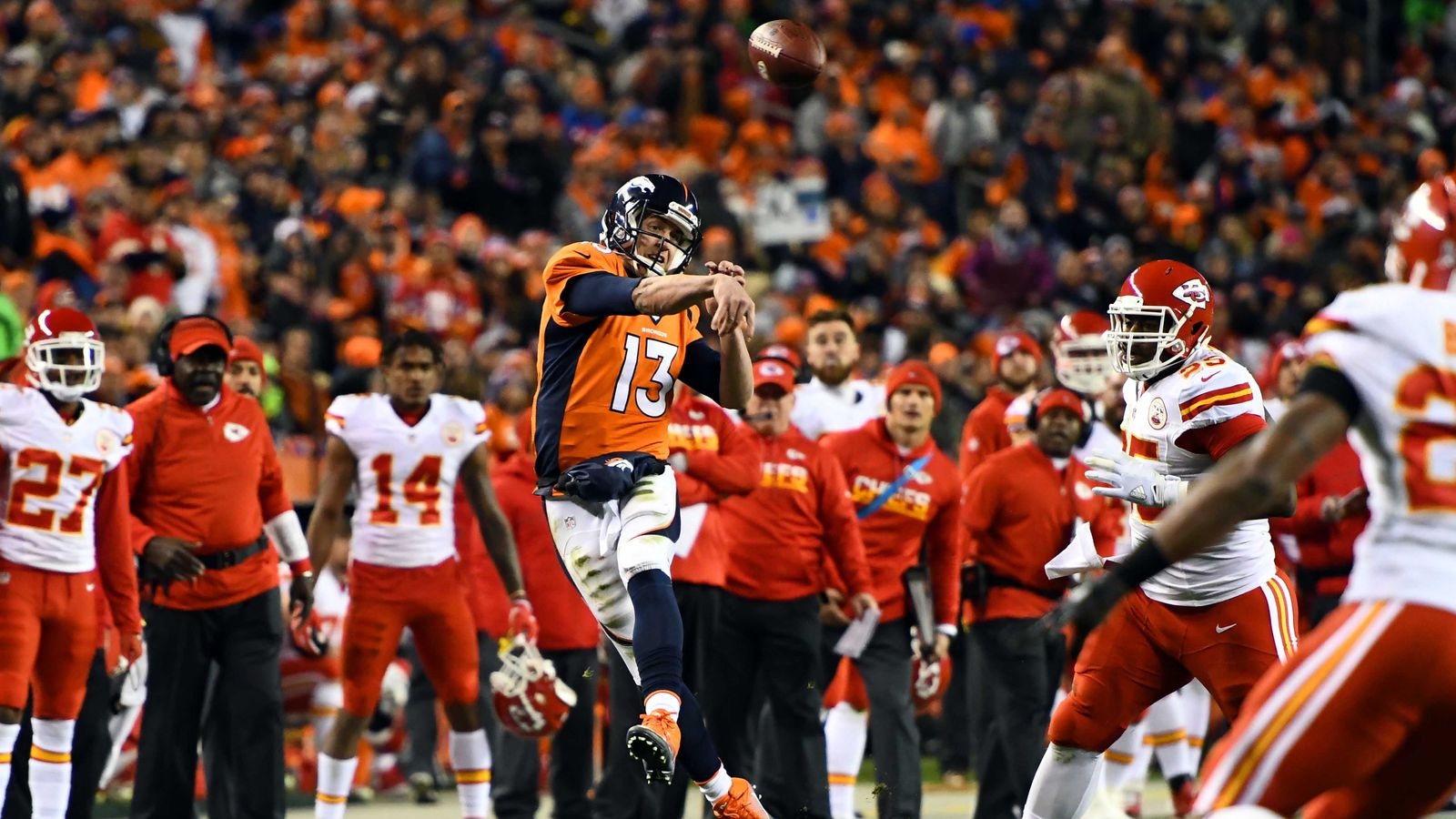 Chiefs Vs Broncos 2016 Final Score Kansas City Wins 30