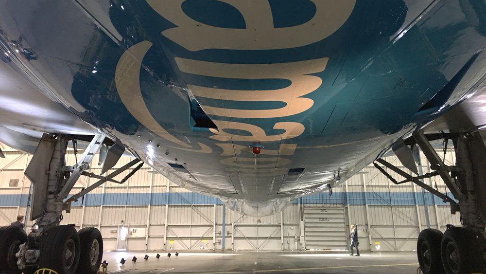 Amazon plane logo