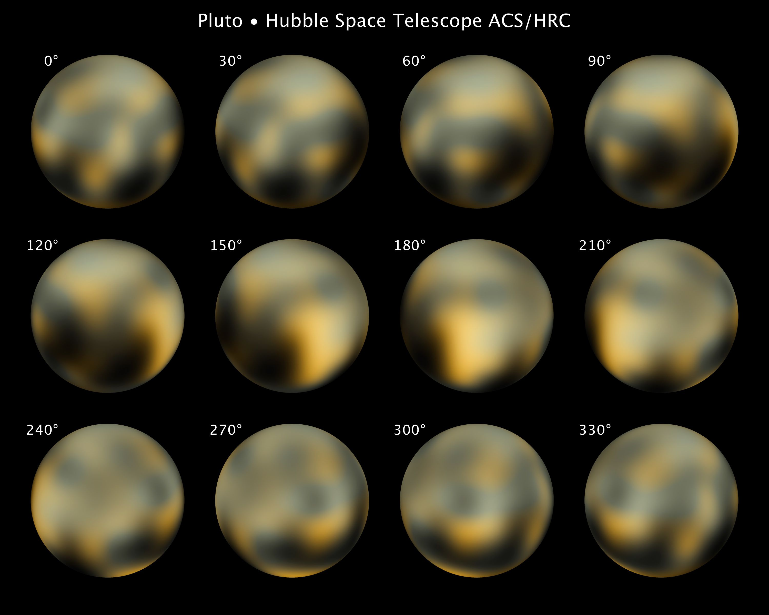 detailed pictures of pluto planet - photo #32