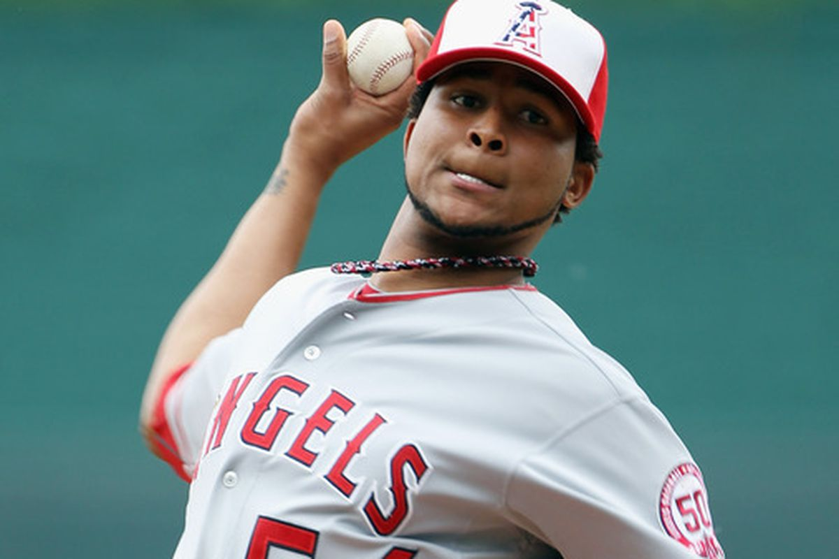 Ervin Santana His Ten Greatest Angels Pitching