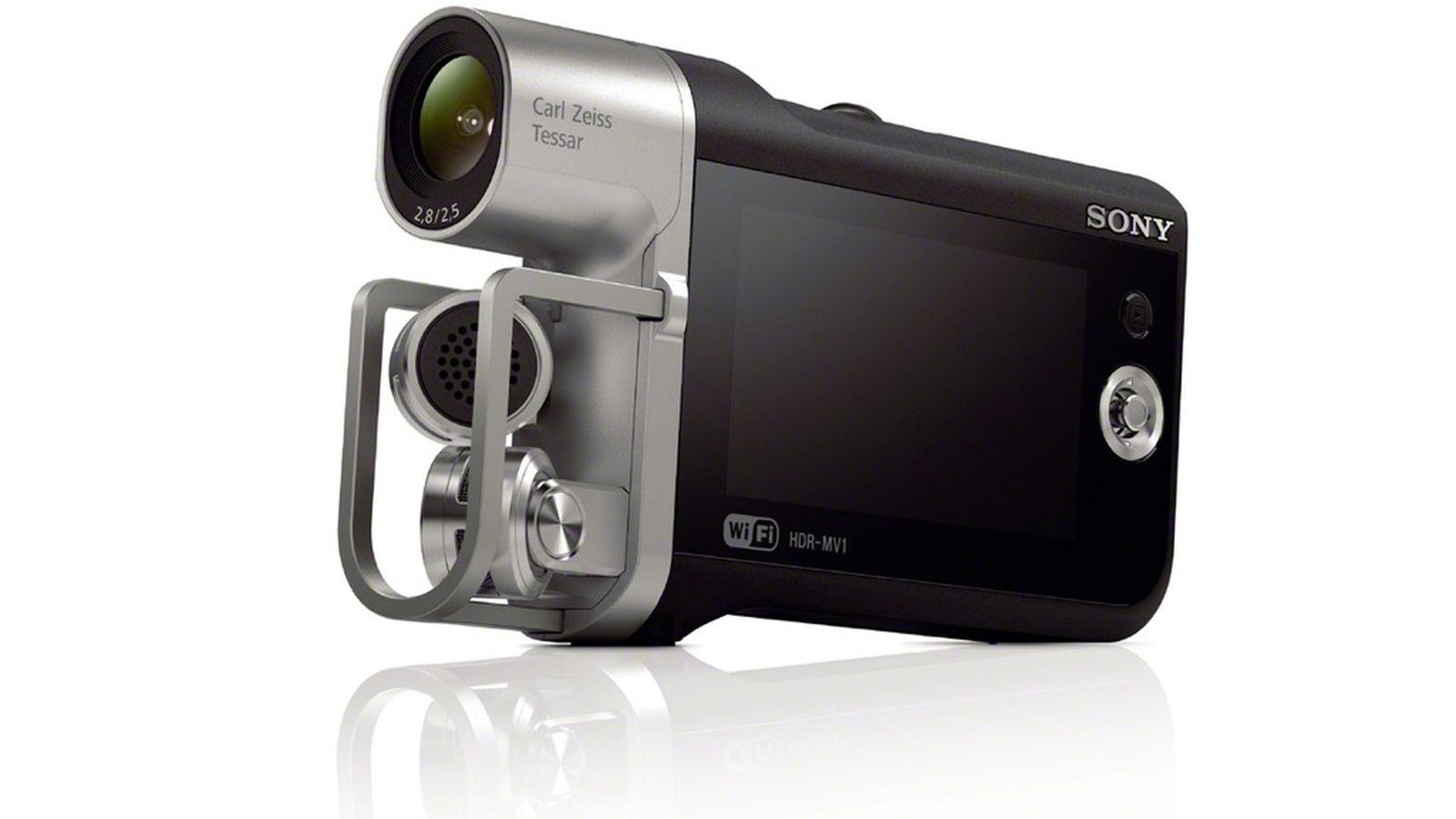 Sony 39 s music video recorder is a small strange gorgeous for Web tv camera