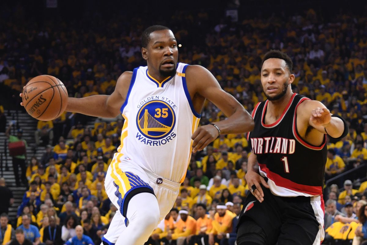 Warriors rule Kevin Durant out for Game 2 against Trail Blazers