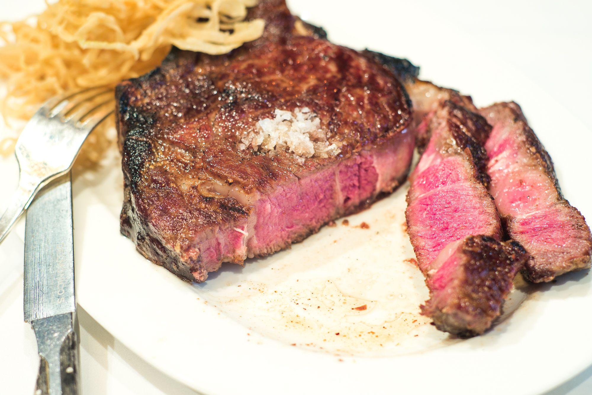 Delmonico steak]
