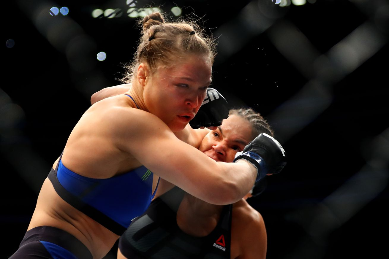 Amanda Nunes: Knocking out Ronda Rousey was too easy, won't accept rematch if I give it to her